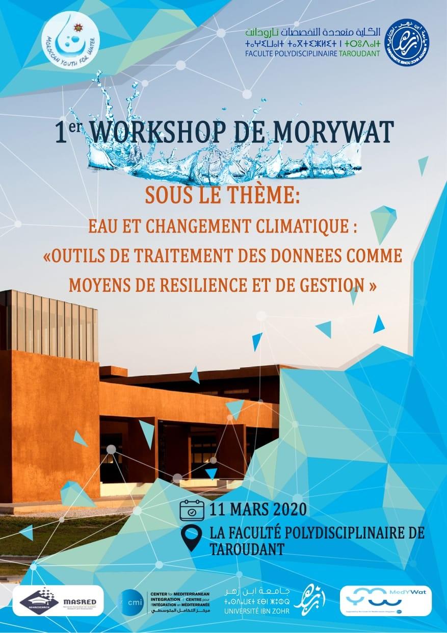 1er Workshop de MorYWat Sous le Thème Eau et Changement climatique