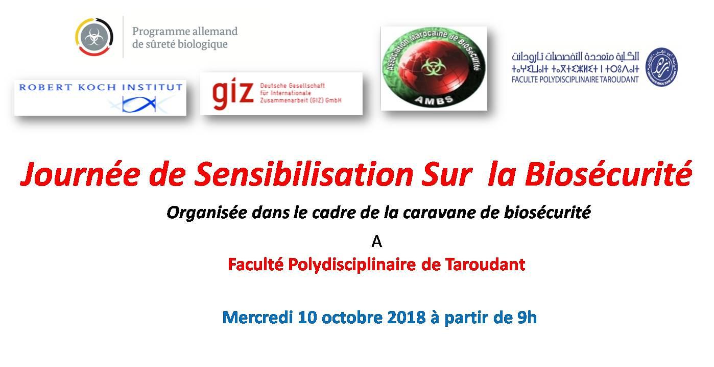 Journée de sensibilisation sur la biosécurité et la biosûreté