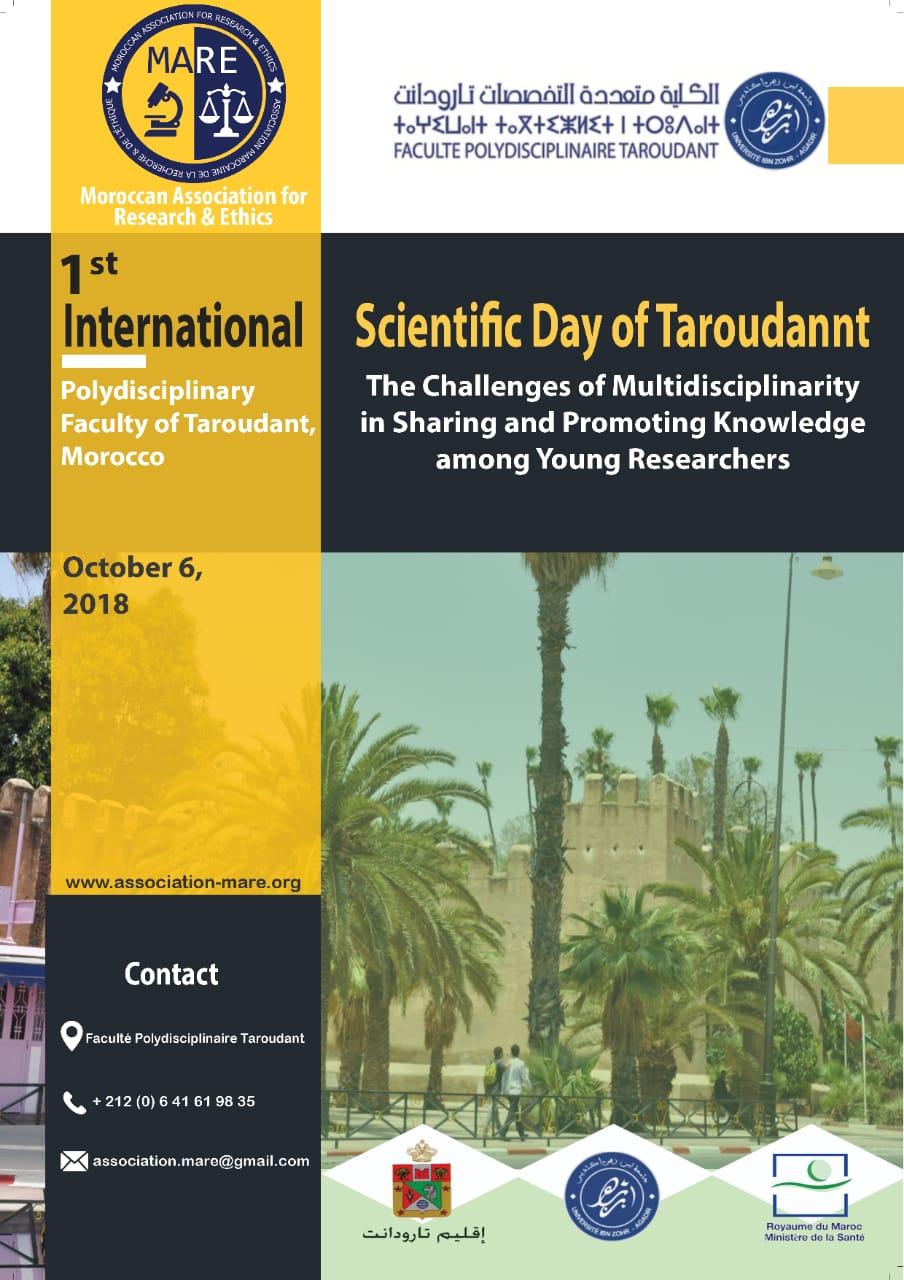 1st International Scientific Day of Taroudannt